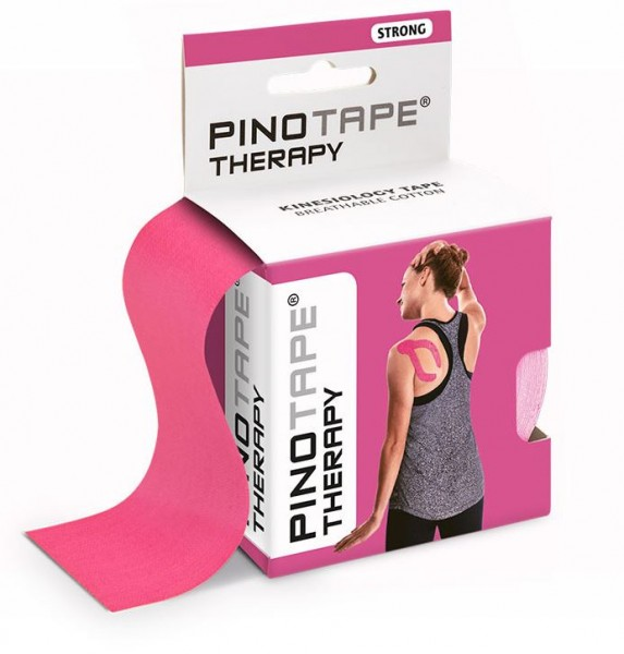 Pinotape Therapy Pink - Baumwolle 5cm x 5m - 45045