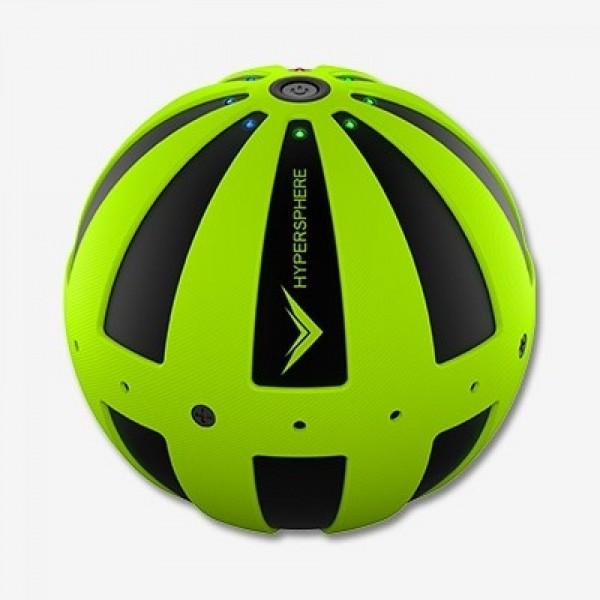 Hyperice - Hypersphere Massageball schwarz/grün - Vibrationsmassagegerät, kabellos