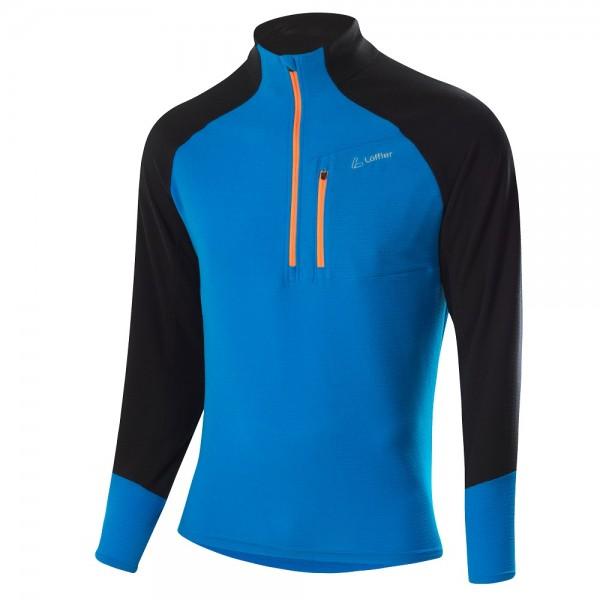 Löffler Zip-Sweater Stretchfleece Herren Langarmshirt - 23043-437 Mauritius