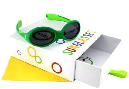 Activesol Baby-Sonnenbrille (0-2Jahre) Monster grün Gr. S