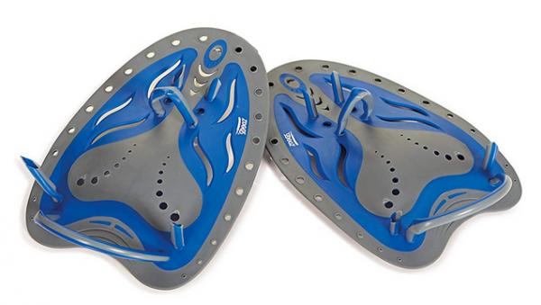 Zoggs Matrix Handpaddel Large - Blau