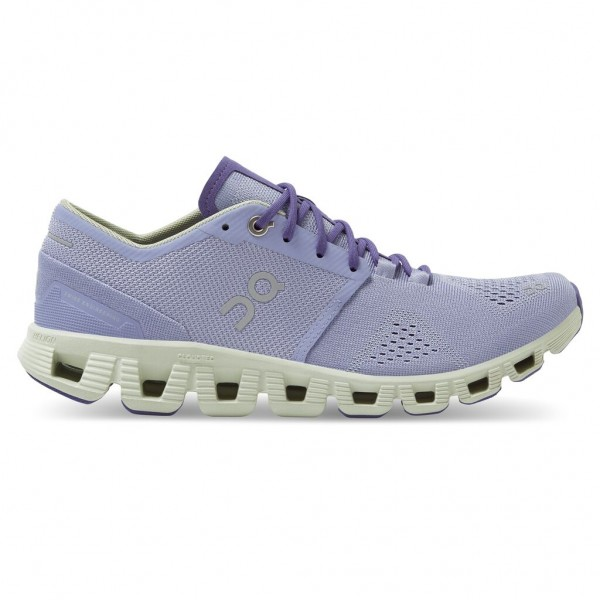 On Cloud X Damen Laufschuh Neutral - 40.99697 Lavender/Ice