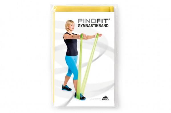 PINOFIT® Gymnastikband Yellow / Gelb - Widerstand leicht - Länge 2 Meter