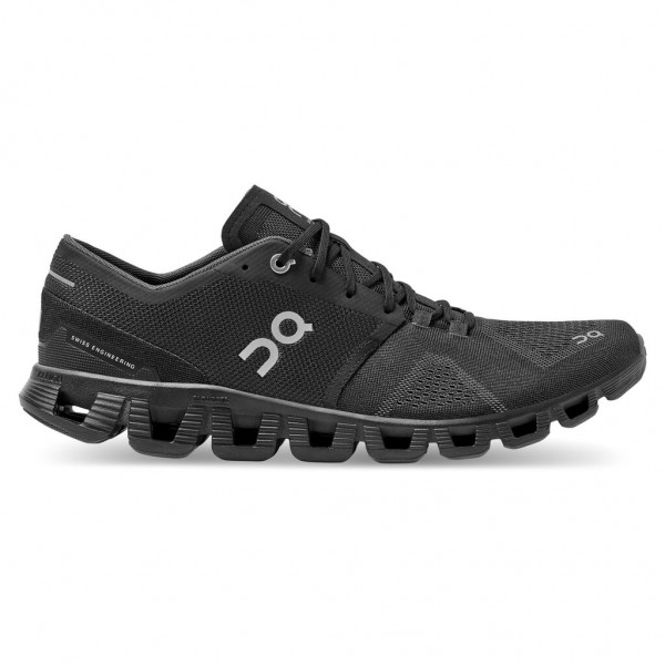 On Cloud X Herren Laufschuh Neutral - 40.99706 Black/Asphalt