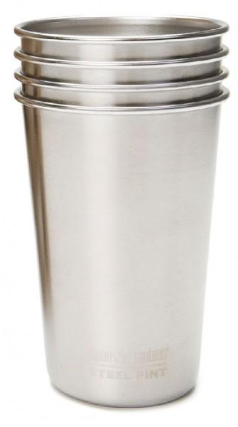 Klean Kanteen 473 ml Pint Cup 4-Pack - Edelstahlbecher - 1005869