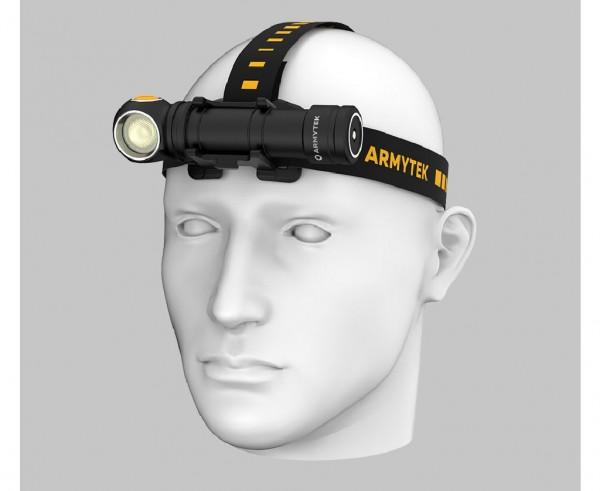 Armytek Wizard C2 Pro MAX Magnet USB, Mehrzweckleuchte - Stirnlampe (warmes Licht) - F06701W