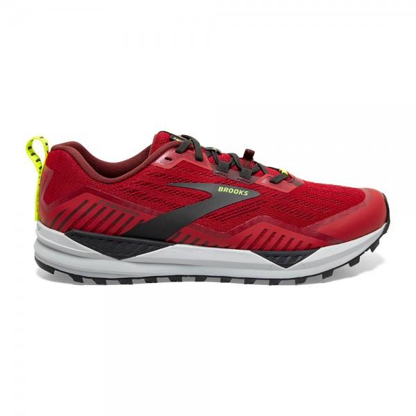 Brooks Cascadia 15 Herren Laufschuh Trail - 110340 1D 650 Samba Red/Brick/Black