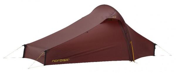 Nordisk Telemark 2.2 LW 2-Personenzelt - Farbe Burnt Red 151025