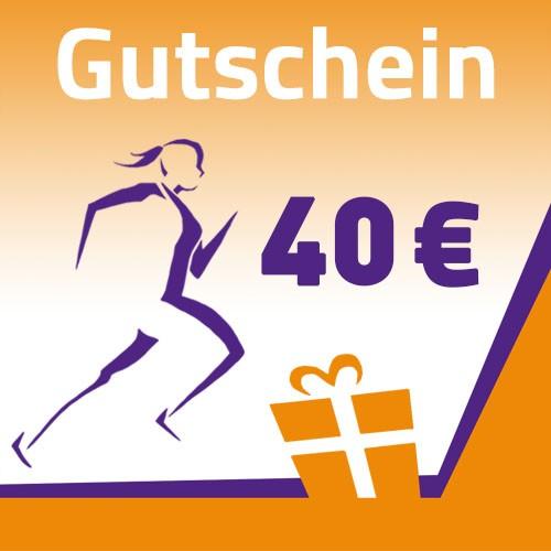 Gutschein 40 Euro selbst ausdruckbar