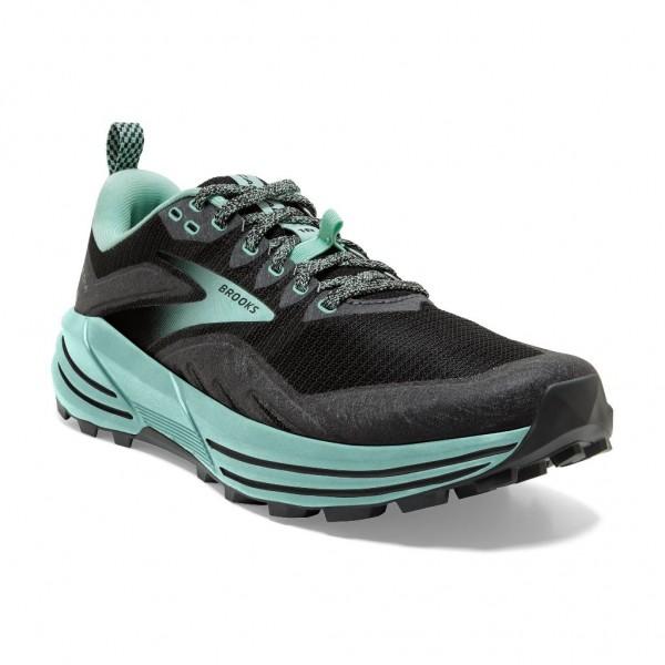 Brooks Cascadia 16 Damen Laufschuh Trail - 120363 1B 049 Black/Ebony/Yucca
