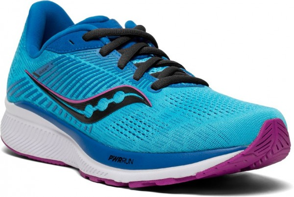 Saucony Guide 14 Damen Laufschuh Stabilität - S10654-30 Farbe Blue Blaze/Berry