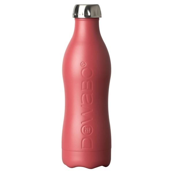 DOWABO einwandige Edelstahl-Flasche - 800 ml Berry - DS-08-ear-ber