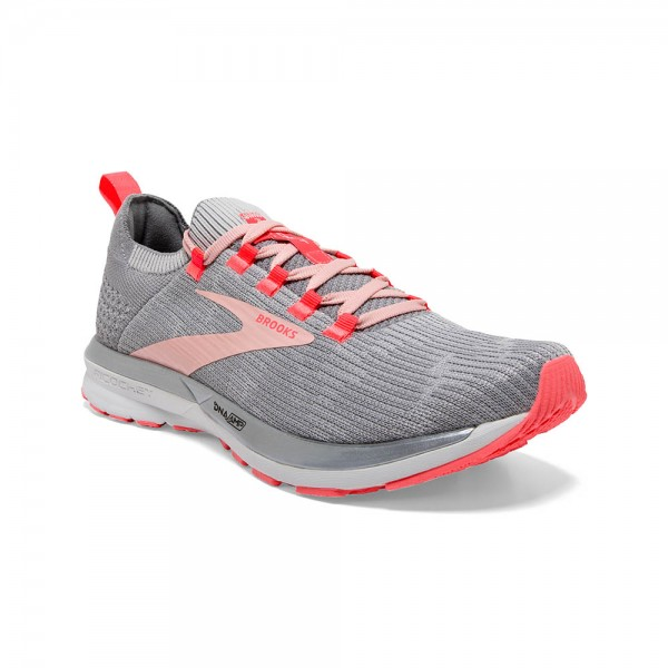 Brooks Ricochet 2 Damen Laufschuh Lightweight - 120303 1B 098 Grey/Alloy/Coral Cloud