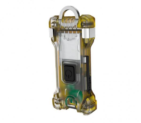 Armytek Zippy Schlüsselanhänger-Taschenlampe (Yellow Amber) - F06001Y