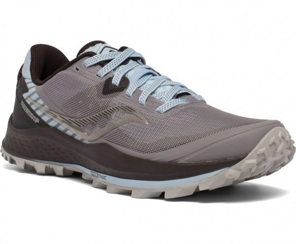 Saucony Peregrine 11 Damen Laufschuh Trail - S10641-35 Farbe Zinc/Sky/Loom