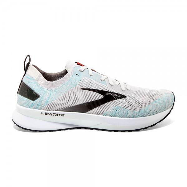 Brooks Levitate 4 Herren Laufschuh Neutral - 110345 1D 029 Farbe Grey/Black/Capri