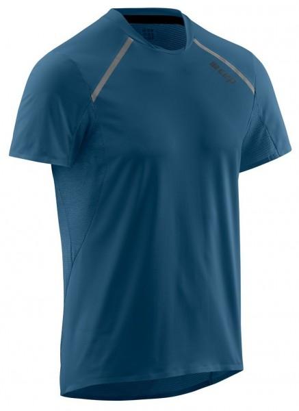 CEP Run Shirt Short Sleeve Herren Laufshirt (kurzarm) - Dunkelblau