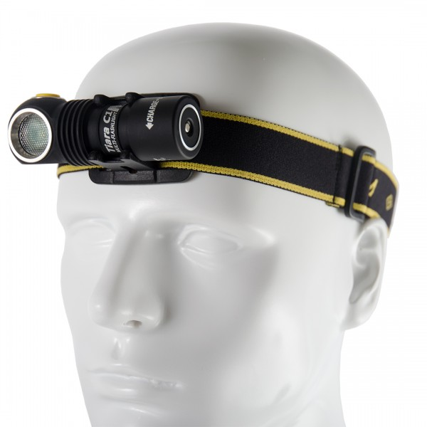 Armytek Tiara C1 Pro Magnet USB Mehrzwecklampe Stirnlampe (kaltes Licht) - F05301SC