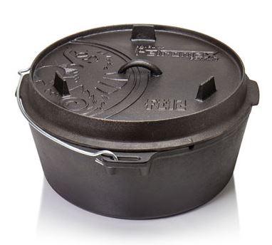 Petromax Feuertopf FT12 OHNE Standfüsse - Volumen 11,5 l - 402412