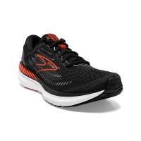 Brooks Glycerin GTS 19 Herren Laufschuh Stabilität 110357 1D 075 - Farbe Black/Grey/Red Clay