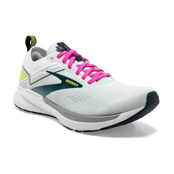 Brooks Ricochet 3 Damen Laufschuh Lightweight - 120348 1B 154 Ice Flow/Pink/Pond