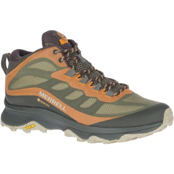 Merrell Moab Speed Mid GTX Herren Wanderschuh - J135411 - Farbe Lichen