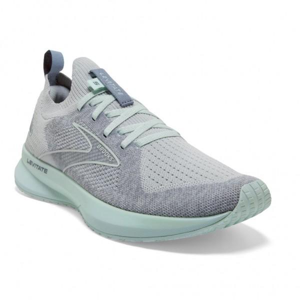 Brooks Levitate Stealth Fit 5 Damen Laufschuh Neutral - 120359 1B 014 Grey/Aqua Glass