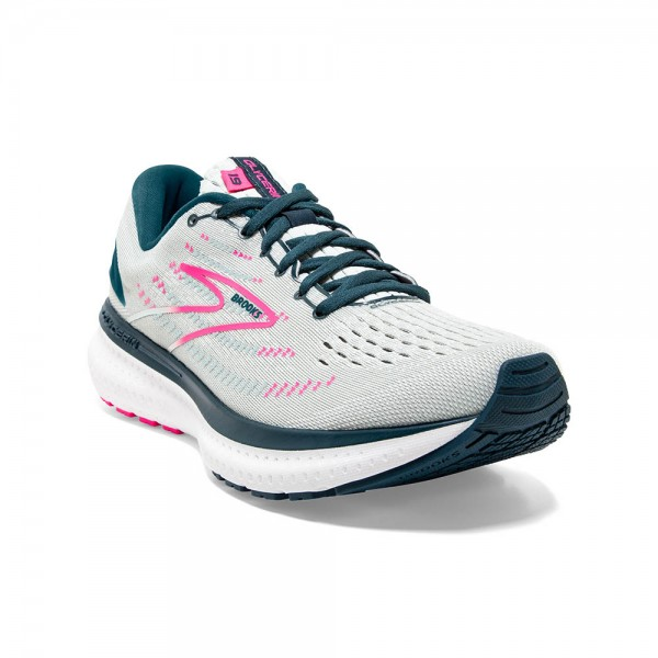Brooks Glycerin 19 Damen Laufschuh Neutral 120343 1B 110 - Farbe Ice Flow/Navy/Pink