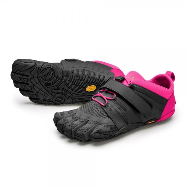 Vibram FiveFingers V-Train 2.0 Damen Fitness-Barfuss-Schuh 20W-7703 Schwarz-Pink