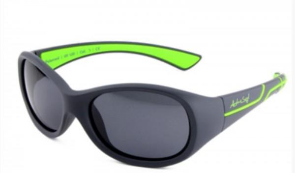 ActiveSol Sonnenbrille -  Kids @school sports' grau/grün 100% UV Schutz - 101711