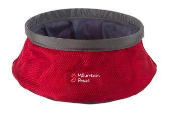 Mountain Paws Wasserschüssel Napf Grösse L   - rot - 742507