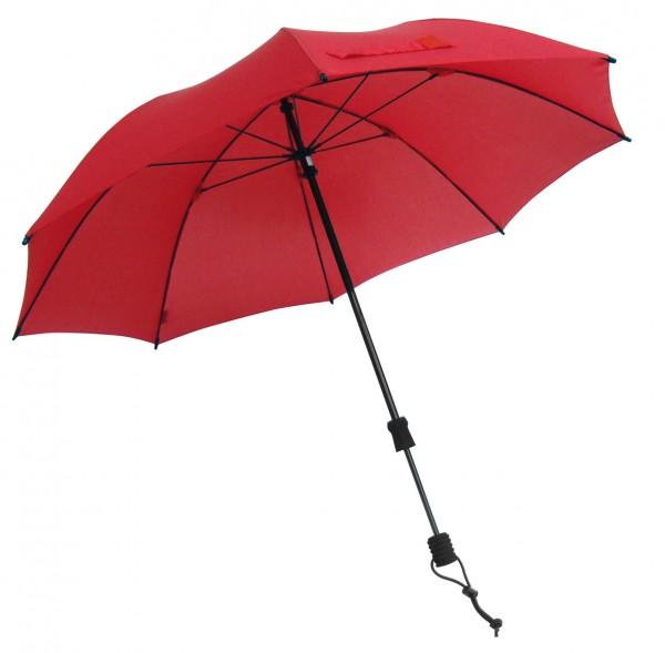 Euroschirm Swing handsfree - Der erste echte handfreie Trekking-Stockschirm - Regenschirm - Rot W2H6