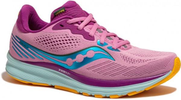 Saucony Ride 14 Damen Laufschuh Neutral S10650-26 - Farbe Future Pink