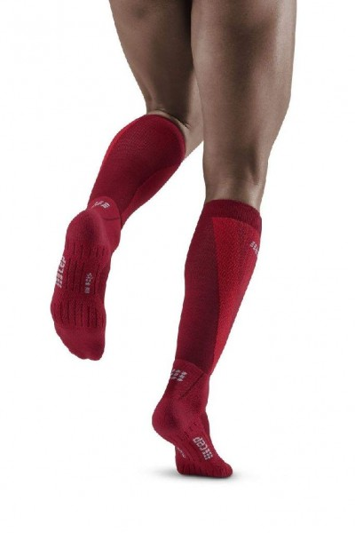 CEP Cold Weather Socks Herren - wärmende Merinio Kompressionssocken - WP30U