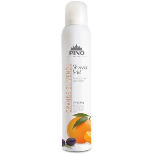 Pino Shower Me! Duschschaum Orange Olivenöl 200 ml