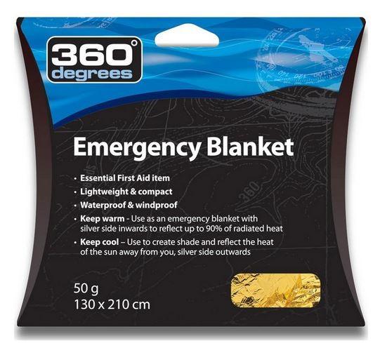 Sea to Summit 360 Degrees Emergency Blanket Notfallausrüstung 130x210cm - 360EMBL
