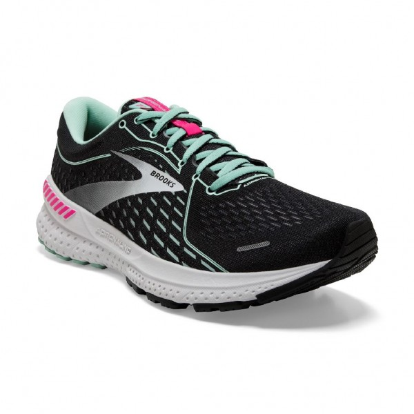 Brooks Adrenaline GTS 21 Damen Laufschuh Stabilität - 120329 1B 013 Black/Pink/Yucca