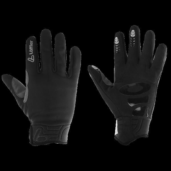 Löffler Gloves WS Warm winddichte Handschuhe - Schwarz 24795-990