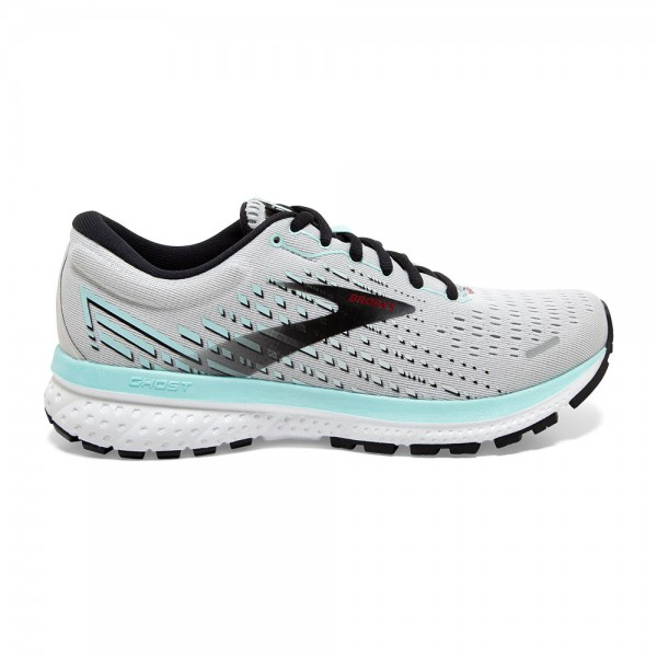 Brooks Ghost 13 Damen Laufschuh Neutral - 120338 1B 073 Farbe Grey/Fair Aqua/Black