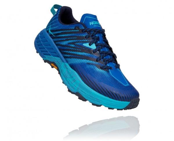 Hoka Speedgoat 4 Herren Laufschuh Trail - 1106525-TSSB Farbe Turkish Sea/Scuba Blue
