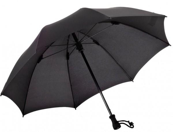 Euroschirm Birdiepal Outdoor - Der stabilste Trekkingschirm der Welt - Regenschirm für extreme Belastungen - Schwarz   W208