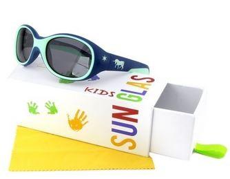 ActiveSol Kinder-Sonnenbrille (2-6 Jahre) Jungen  & Mädchen Unicorn Einhorn blau  100% UV Schutz