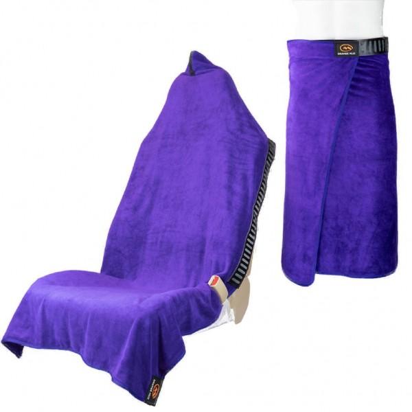 Orange Mud Transition Wrap 2.0 - Sporthandtuch Autositzbezug Umziehhilfe - Purple