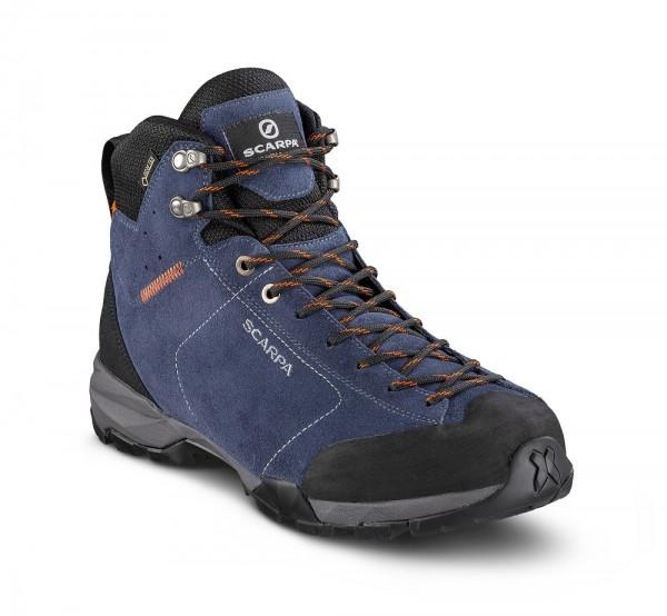 Scarpa Mojito Hike GTX Herren Wanderschuh Gore-Tex - 63311G-M-0287 - Farbe Blue Cosmo / Tonic