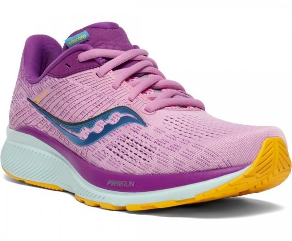 Saucony Guide 14 Damen Laufschuh Stabilität - S10654-26 Farbe Future Pink