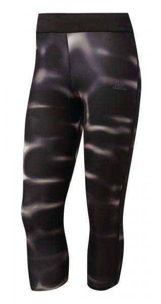 Adidas Damen Laufhose Response 3-4 Tight Schwarz - BK0435