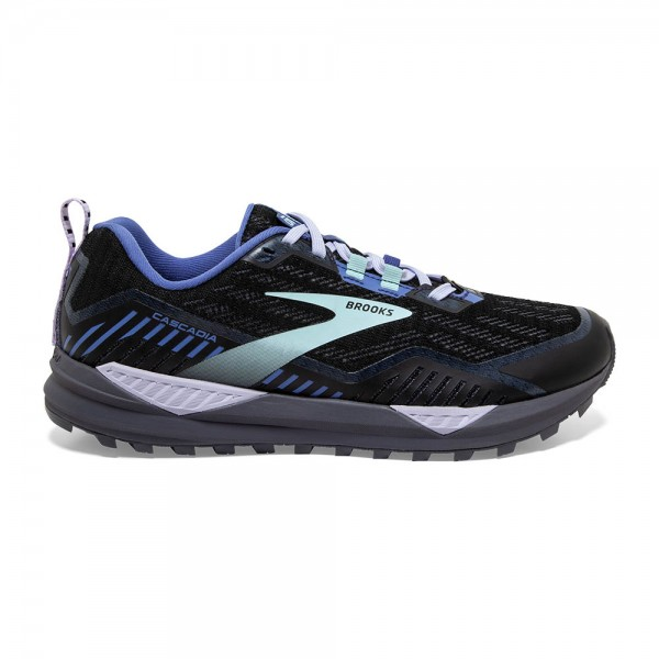 Brooks Cascadia 15 GTX Damen Laufschuh Trail, wasserdicht - 120332 1B 065 Black/Marlin/Blue