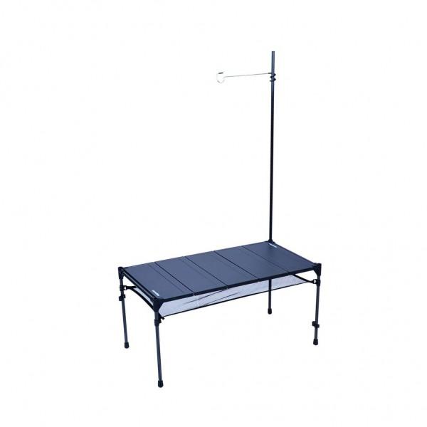 Snowline Cube Carbon Table L5, größerer leichter Falttisch mit Carbongestell - 3966-000 Farbe Schwarz