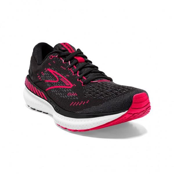 Brooks Glycerin GTS 19 Damen Laufschuh Stabilität 120344 1B 035 - Farbe Black/Diva Pink/White