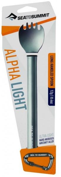 Sea to Summit AlphaLight Cutlery Long Handled Spork - Gabel u. Löffel - Spoon - Fork